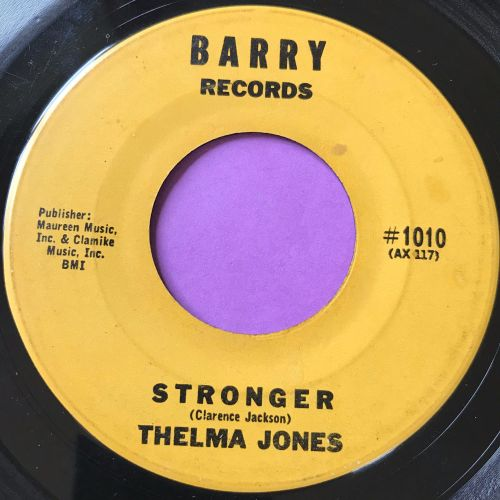 Thelma Jones-Stronger-Barry E