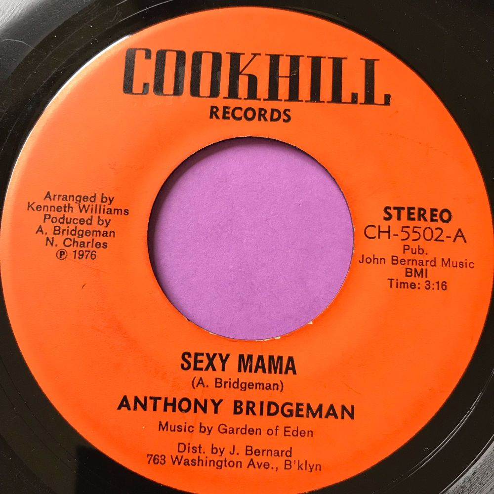 Anthony Bridgeman-Sexy mama-Cookhill E+