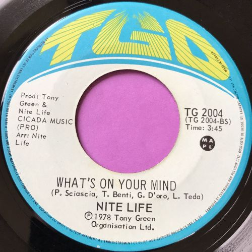 Nite Life-What's on your mind-TGO E+