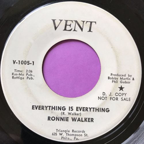 Ronnie Walker-Everything is everything-Vent WD E