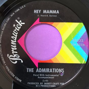 Admirations-Hey mamma-Brunswick E+