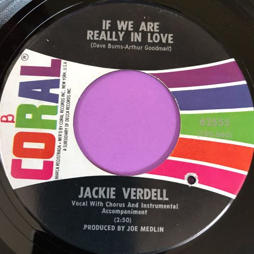 Jackie Verdell-Call on me-Coral E+