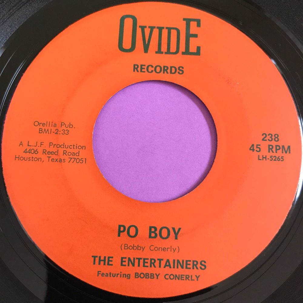 Entertainers-Po Boy-Ovide E