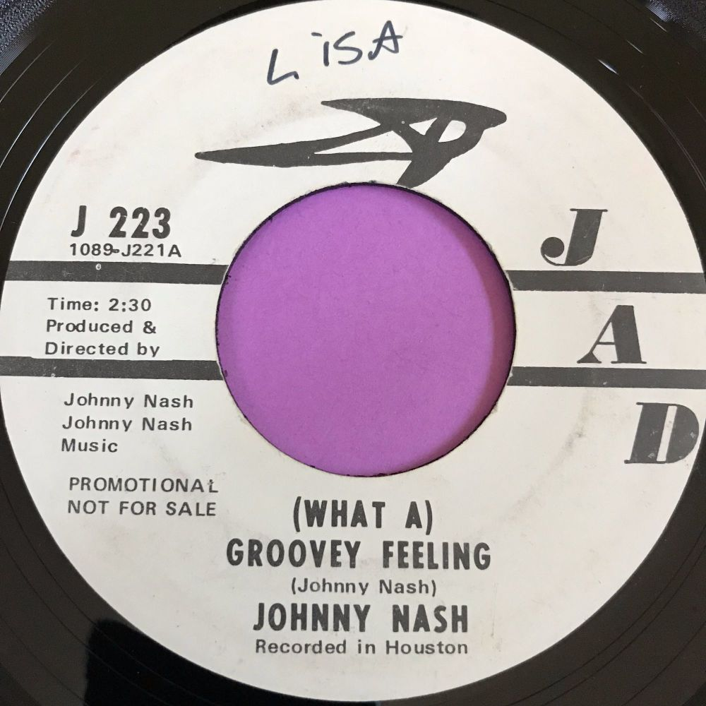 Johnny Nash-Groovey feeling- Jad wol WD E+