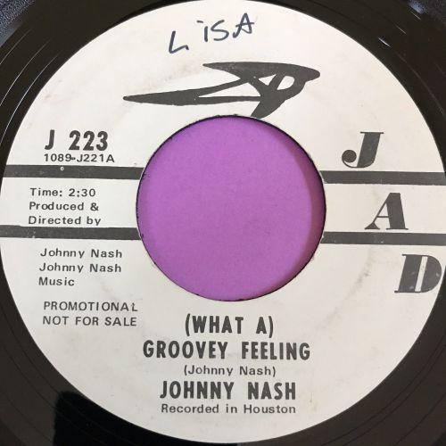 Johnny Nash-Groovey feeling- Jad wol WD E+