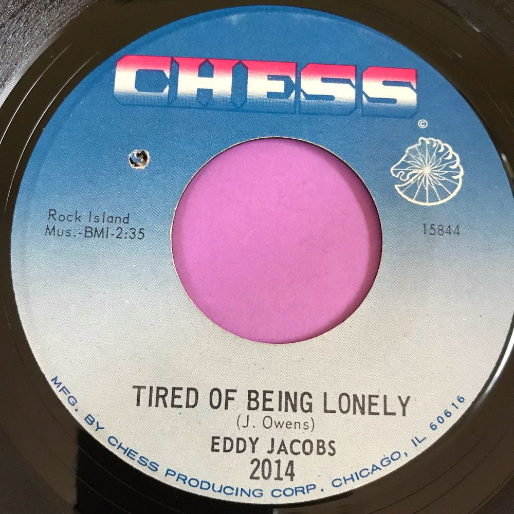 Eddie Jacobs-Tired of being lonely-Chess E+