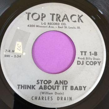 Charles Drain-Stop and think about it baby-Top track E