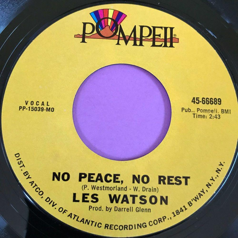 Les Watson-No peace no rest-Pompeii M-