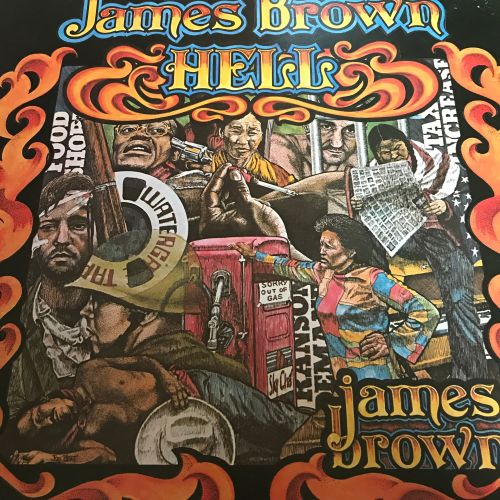 James Brown-Hell-Polydor LP E+