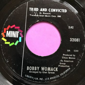 Bobby Womack-Tried and convicted-Minit E+