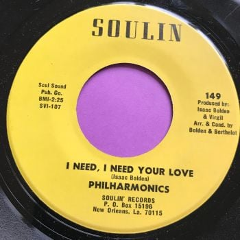 Philharmonics-I need I need your love-Soulin E+