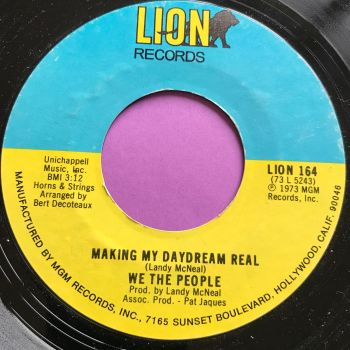 We the people-Making my daydream real-Lion M-
