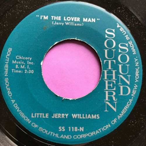 Little Jerry Williams-I am the lover man-Southern Sounds E+