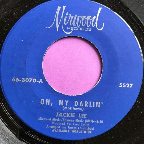 Jackie Lee-Oh My Darling-Mirwood E+