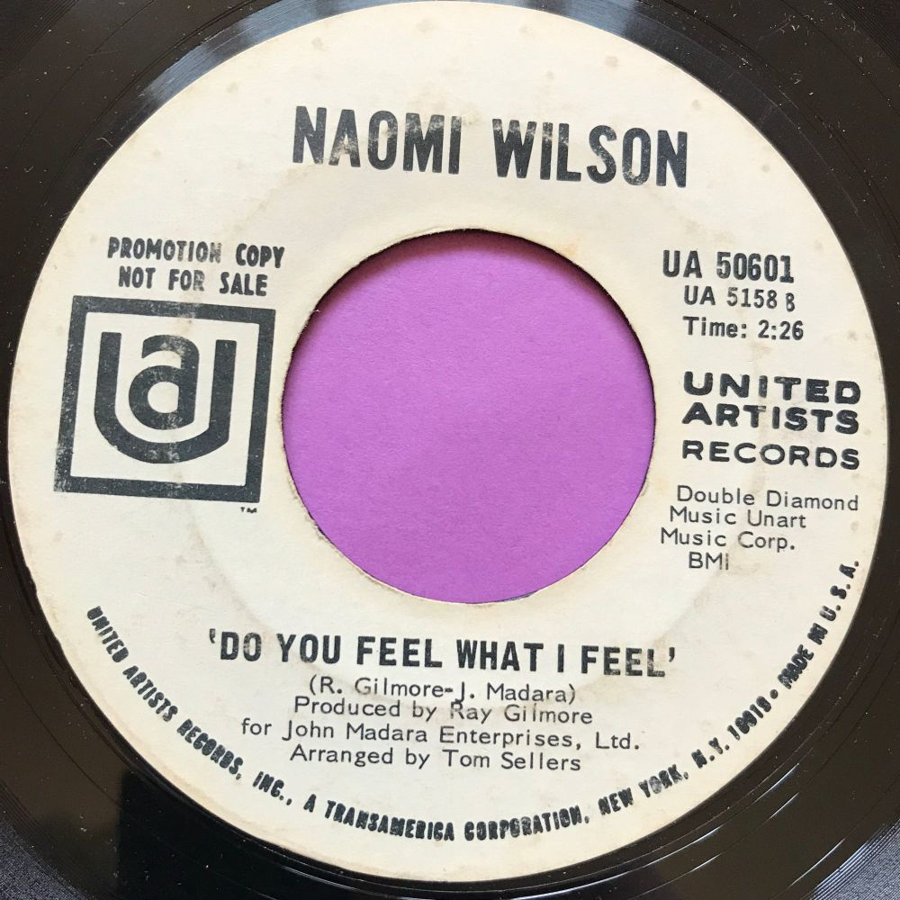 Naomi Wilson-Do you feel what I feel-UA WD E-