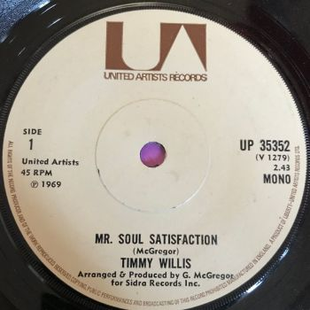 Timmy Willis-Mr Soul Satisfaction-UK UA E+