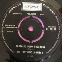 Fantastic Johnny C-Boogaloo down broadway-UK London E+
