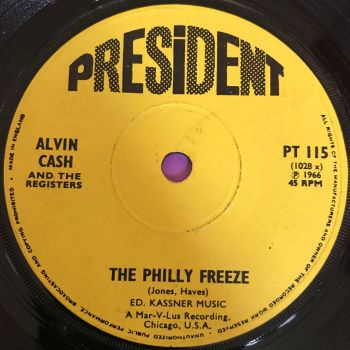 Alvin Cash-The Philly Freeze-UK Direction E+
