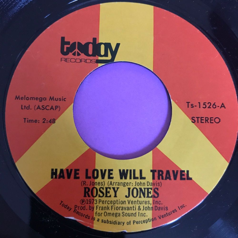 Rosey Jones-Have love will travel-Today E+