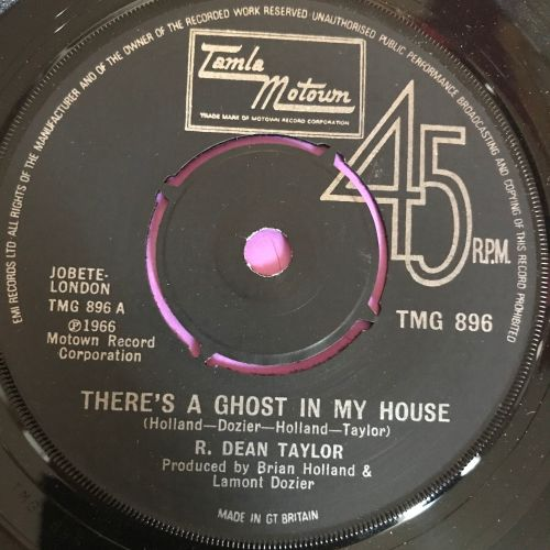 R. Dean Taylor-There's a ghost in my house-TMG 896 E