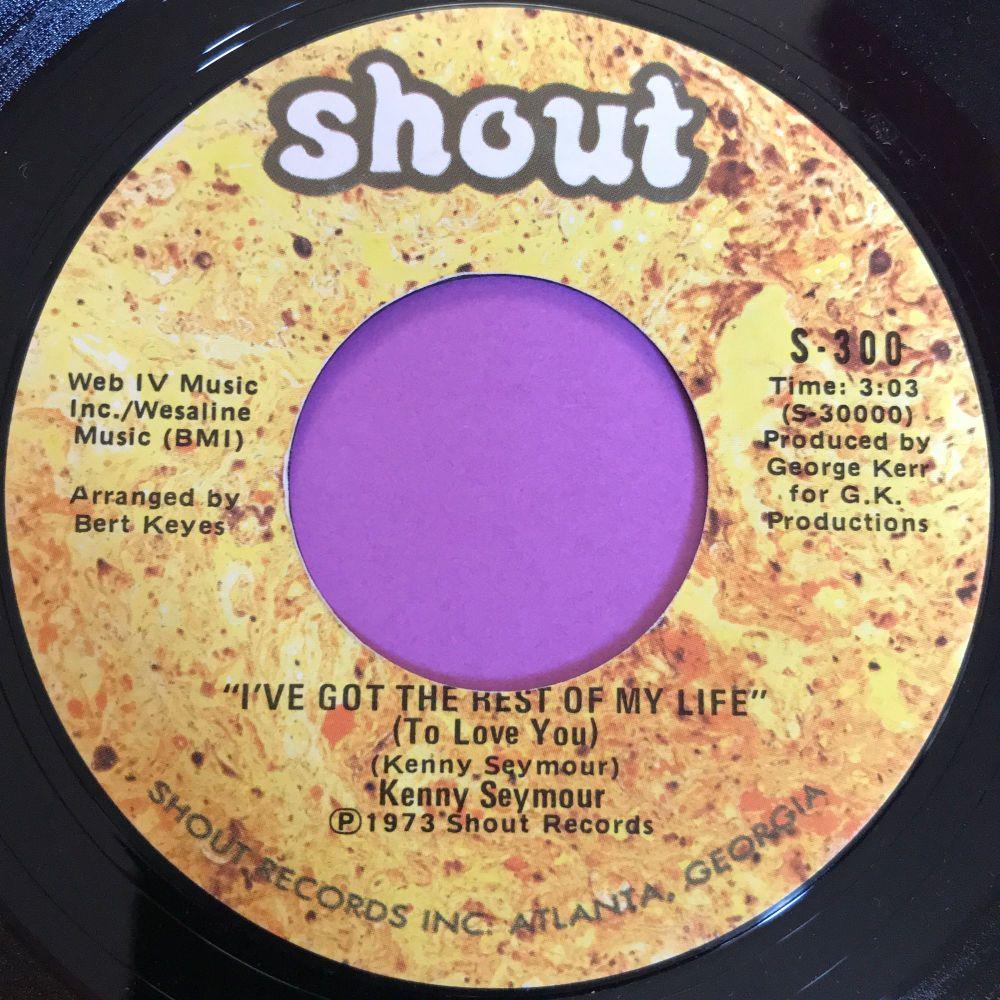 Kenny Seymour-I've got the rest of my life-Shout E+