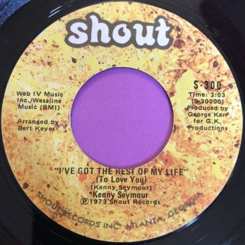 Kenny Seymour-I've got the rest of my life-Shout E+