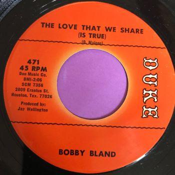 Bobby Bland-The love that we share-Duke E+