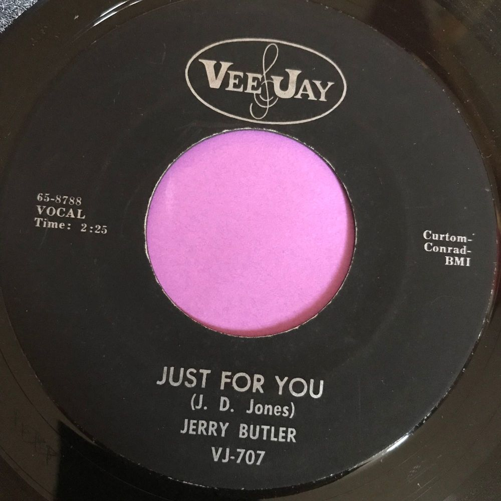 Jerry Butler-Just for you-VJ E+