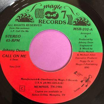 Johnny Dean-Call on me-Magic 7 E+