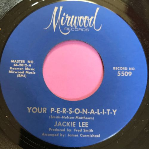 Jackie Lee-Your Personality-Mirwood E+