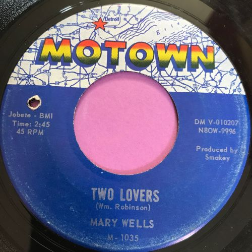 Mary Wells-Two lovers-Motown E