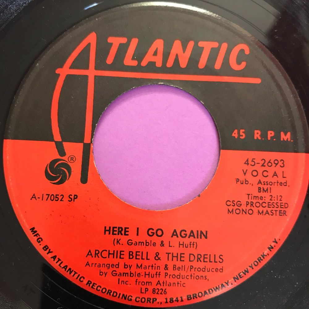 Archie Bell-Here I go again-Atlantic E