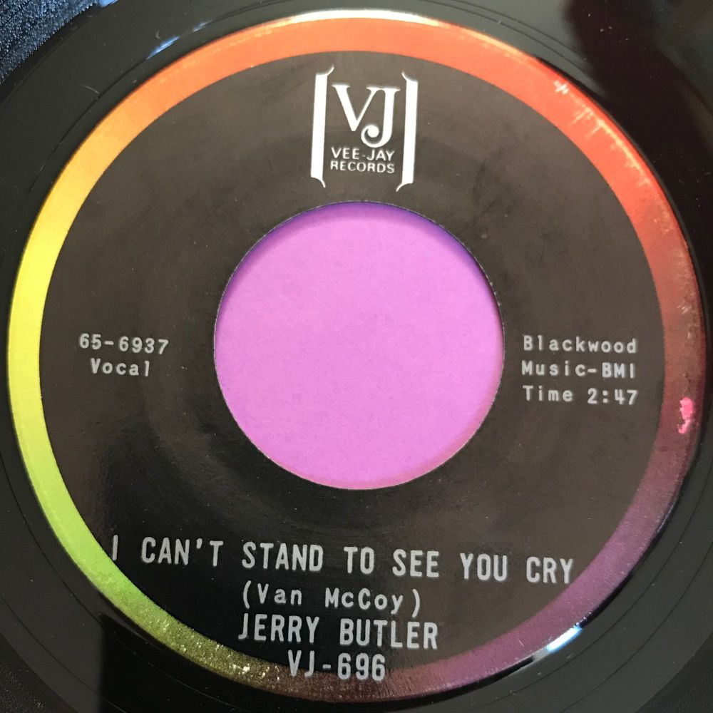 Jerry Butler-I can't stand to see you cry-VJ E+