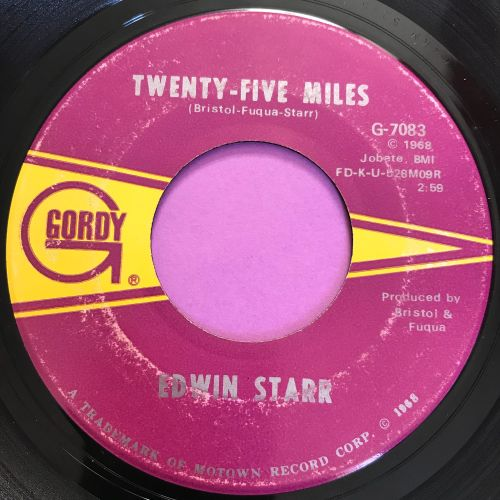 Edwin Starr-25 Milesd-Gordy E