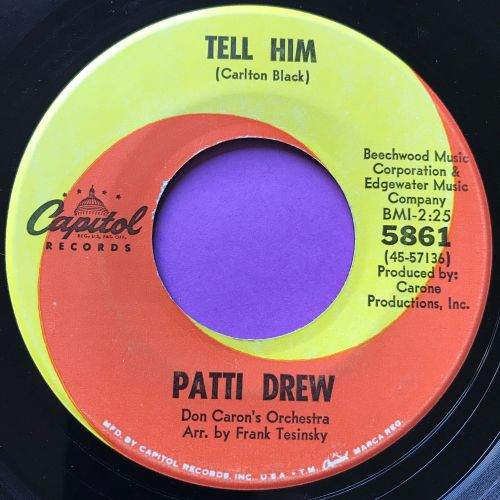 Patti Drew-Tell him-Capitol E