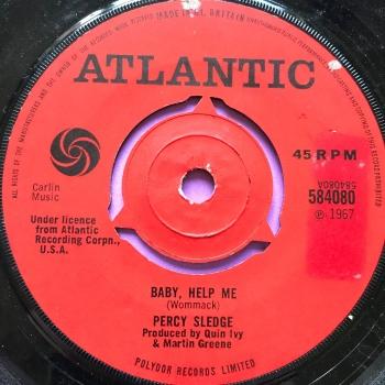 Percy Sledge-Baby help me-UK Atlantic E