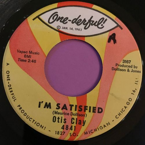 Otis Clay-I'm satisfied-One-derful E+