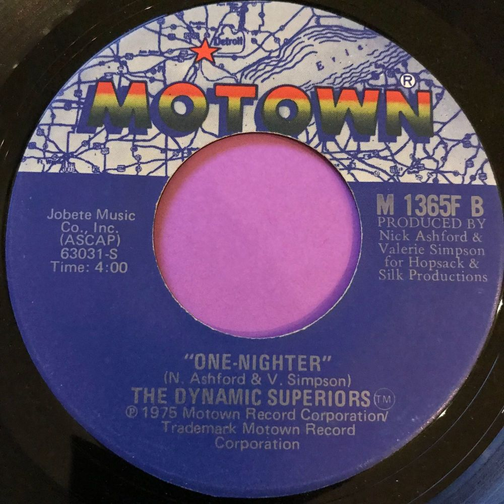 Dynamic Superiors-One-Nighter-Motown E