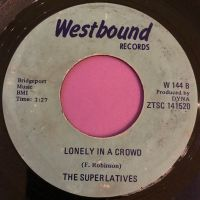 Superlatives-Lonely in a crowd-Westbound E