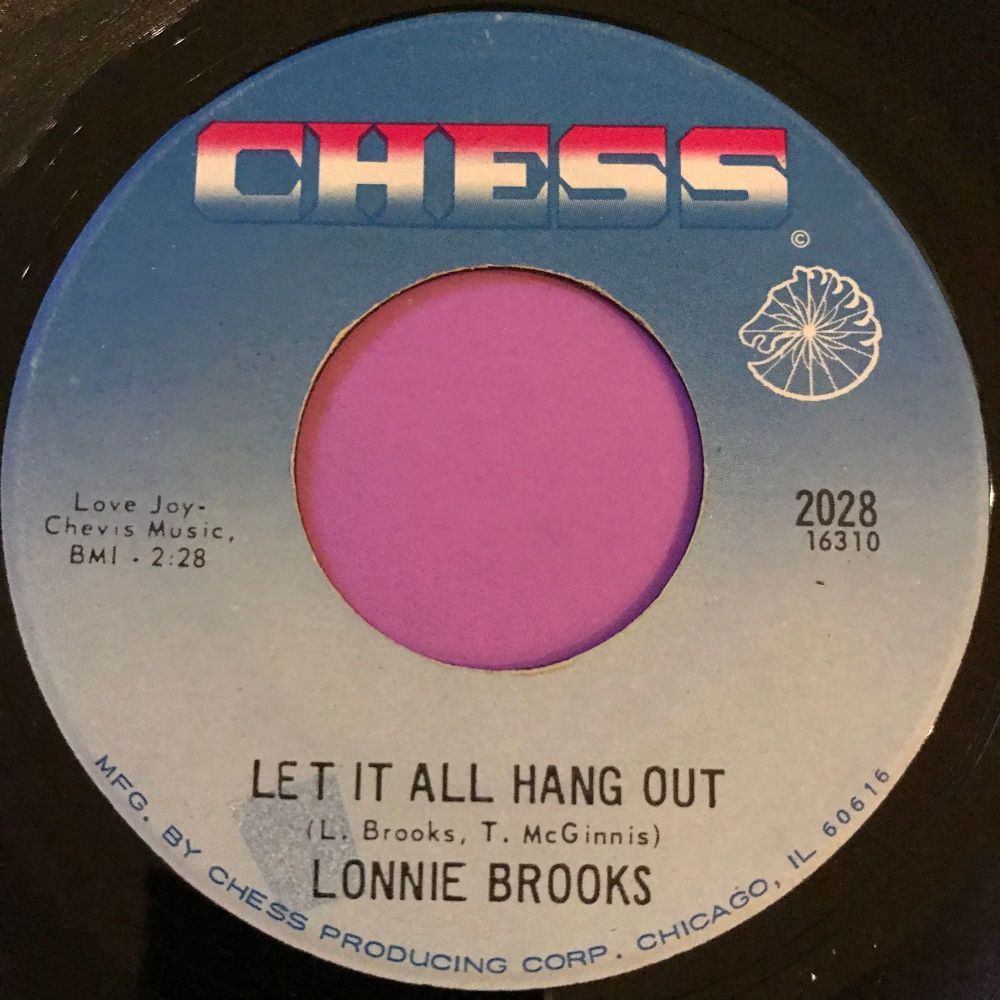 Lonnie Brooks-Let it all hang out-Chess E