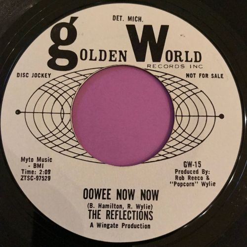 Reflections-Oowee now now-Golden world WD E+