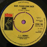 J.J Barnes-Baby please come back home-UK Stax E+