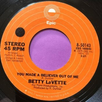 Betty LaVette-You made a believer out of me-Epic E+