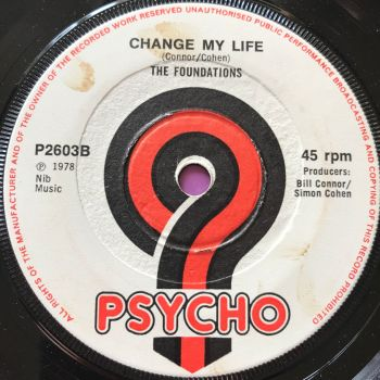 Foundations-Change my life-UK Psycho E