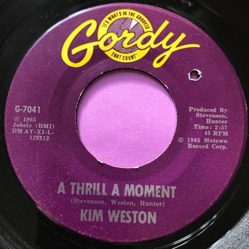 Kim Weston-A thrill a moment-Gordy E