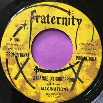 Imaginations-Strange neighbourhood-Fraternity Demo E+