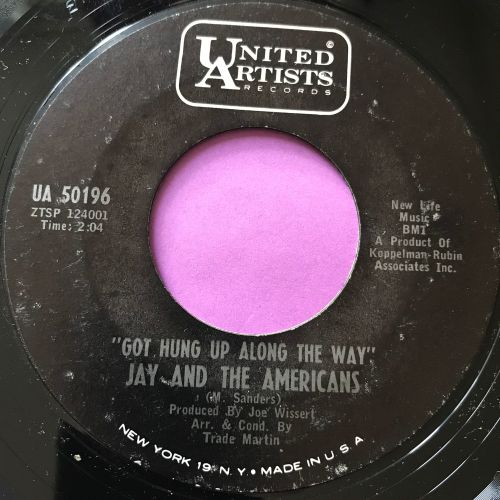 Jay and the Americans-Got hung up along the way-UA E+