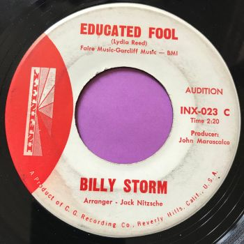 Billy Storm-Educated fool-Infinity Demo E