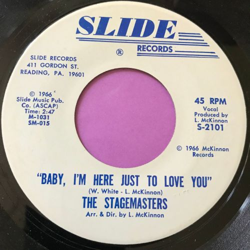 Stagemasters-Baby I'm here just to love you-Slide E+