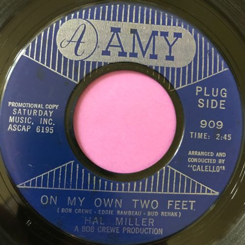 Hal Miller-On my own two feet-Amy E